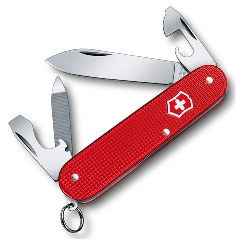 Нож перочинный Victorinox Alox Cadet (0.2601.L18) 84мм 9функций красный