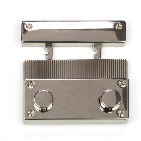 Застежка N4 для вязаных и кожаных клапанов