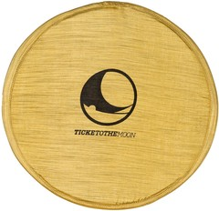 Складывающееся тканевое фризби Ticket to the Moon Pocket Frisbee Sparkling Gold