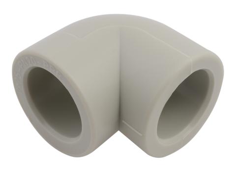 FV Plast 20 мм 90° угол равнопроходной полипропиленовый