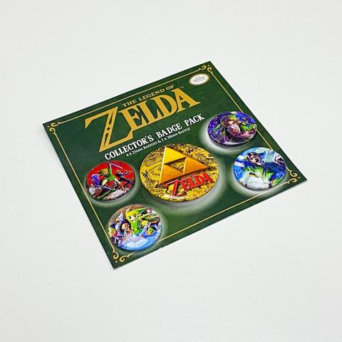 Набор значков The Legend Of Zelda (Classics)
