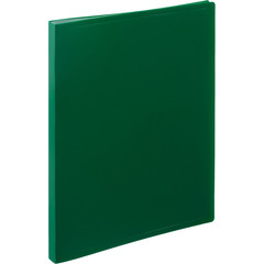 Папка файловая на 20 файлов Attache зеленая