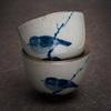 "Пиала ""Птиц"" керамика Цзиндэчжэнь, 45 мл"