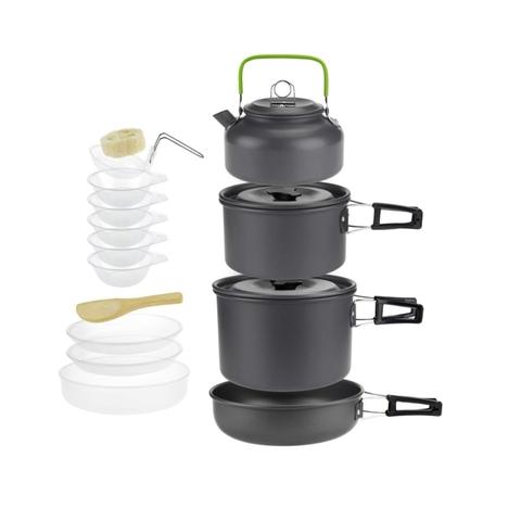 Набор посуды походный Cooking Set DS-500