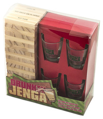 Настольная игра Пьяная башня, Drunken Jenga, фото 2