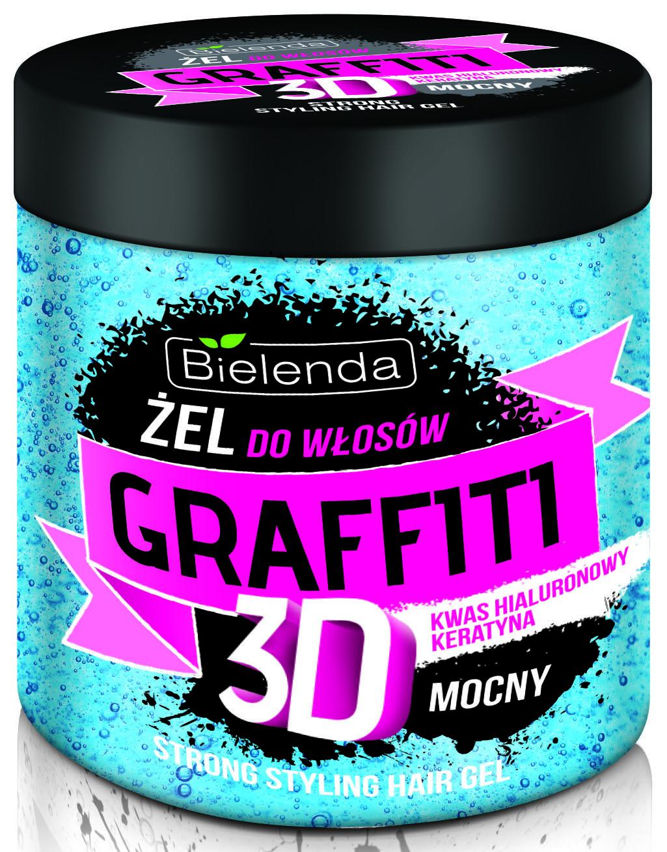ГРАФФИТИ 3D Гель для волос STRONG (синий ) 250мл