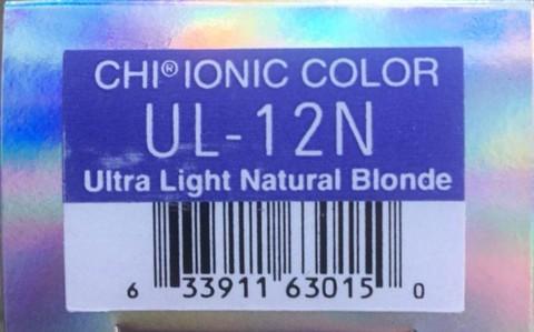 Крем-краска CHI Ионик UL-12 N 85 гр