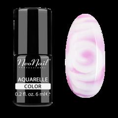 NeoNail Гель-лак акварельный UV 6ml Pink Aquarelle №5504-1