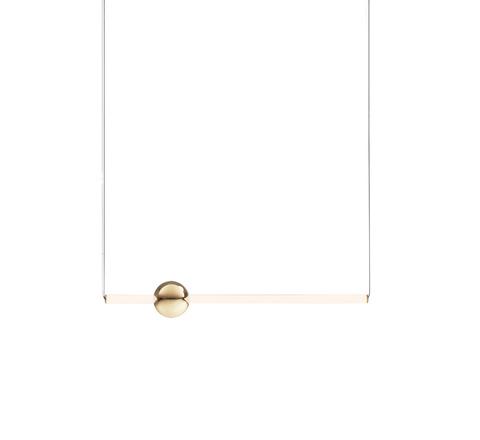 Подвесной светильник копия ORION GLOBE by Lee Broom H60 (горизонтальный, белый)