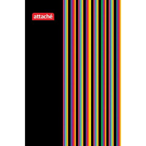 Блокнот Attache А7 40 листов в ассортименте в клетку на спирали (70х105 мм)