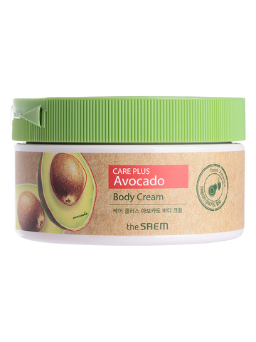 СМ CARE PLUS Крем для тела с экстрактом авокадо Care Plus Avocado Body Cream 300мл