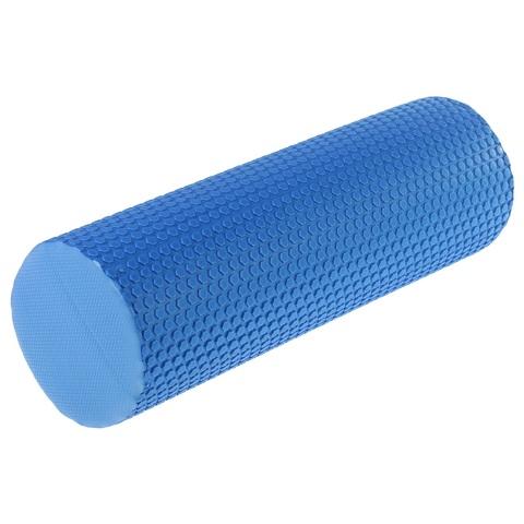 Роллер синий массажный EVA 45x15 см