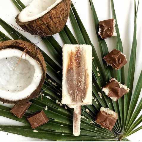 Фотография Мороженое молочное *Эквадорский кокос и шоколад* / 70 гр купить в магазине Афлора