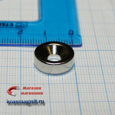 Неодимовый магнит кольцо 15х5х5 мм