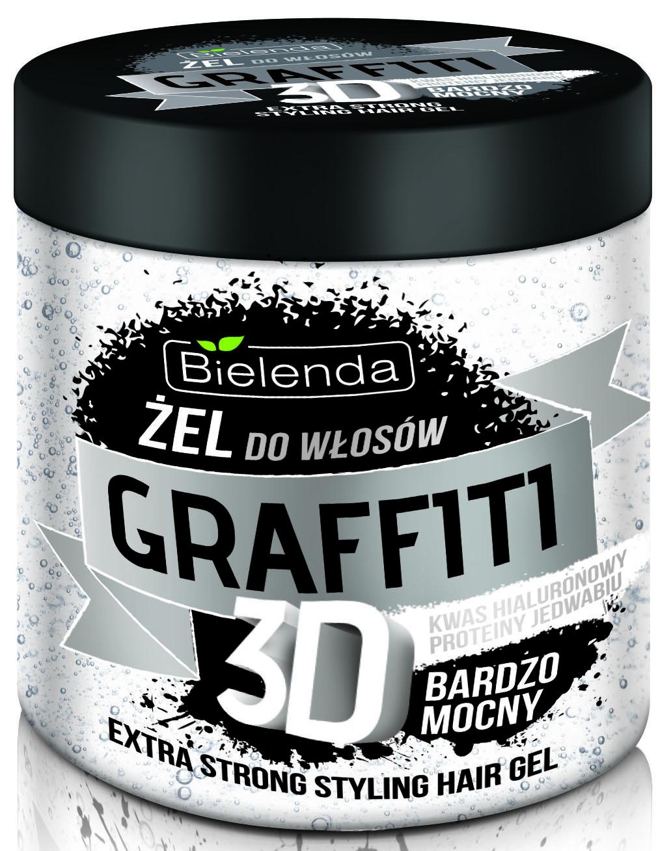 ГРАФФИТИ 3D Гель для волос ULTRA STRONG 250мл