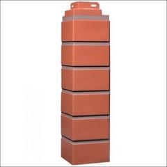Наружный угол для фасайдинга FineBer Дачный кирпич клинкерный Керамический