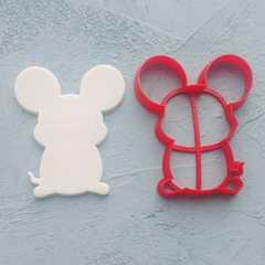 Мышь форма для пряника
