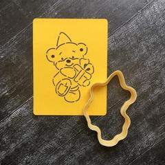 Мишка Тедди №7 с подарком