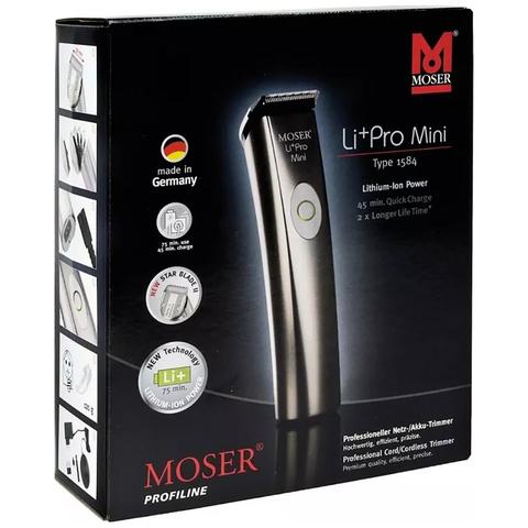Машинка д/стрижки Moser LiPro mini аммум./сетевая, 1 насадка