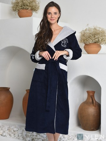 Махровый халат ATHLETIC LADY (EFW)