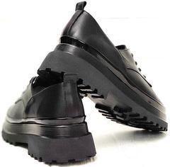 Классические женские туфли мартинсы Marani magli M-237-06-18 Black.