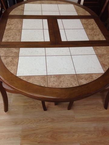 Стол Vena Tile+  106+48см