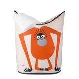 Корзина для белья 3 Sprouts Орангутан (оранжевый)