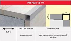 Профиль РП-АКП-16-10