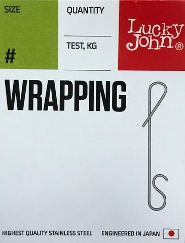 Безузловые застежки WRAPPING 04L, 23кг, 7шт.