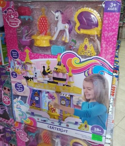 My Little Pony детская площадка с фигурками большими и маленькими