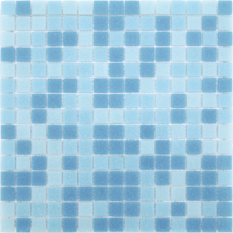 Мозаика LeeDo - Caramelle: Sabbia - Onda 32,7x32,7x0,4 см (чип 20x20x4 мм) - на бумажной основе