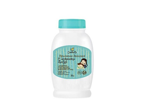 Присыпка детская с экстрактом Бамбука | 70 гр | СпивакЪ