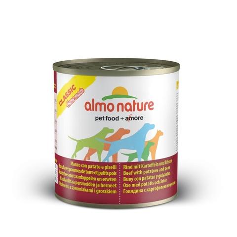 Консервы (банка) Almo Nature Classic Home Made - Beef with Potatoes and Peas
