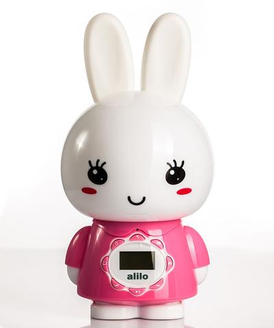 Большой зайка Alilo G7 Розовый