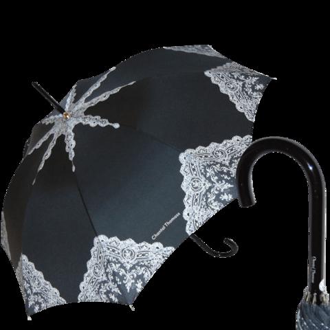 Люксовый французский зонтик кружево