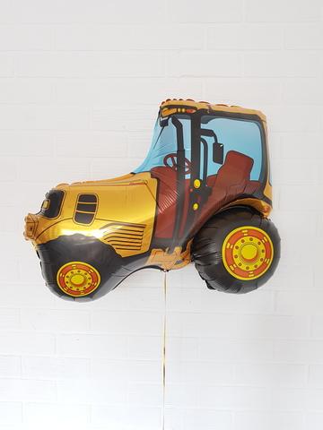 Трактор желтый (FM), 37
