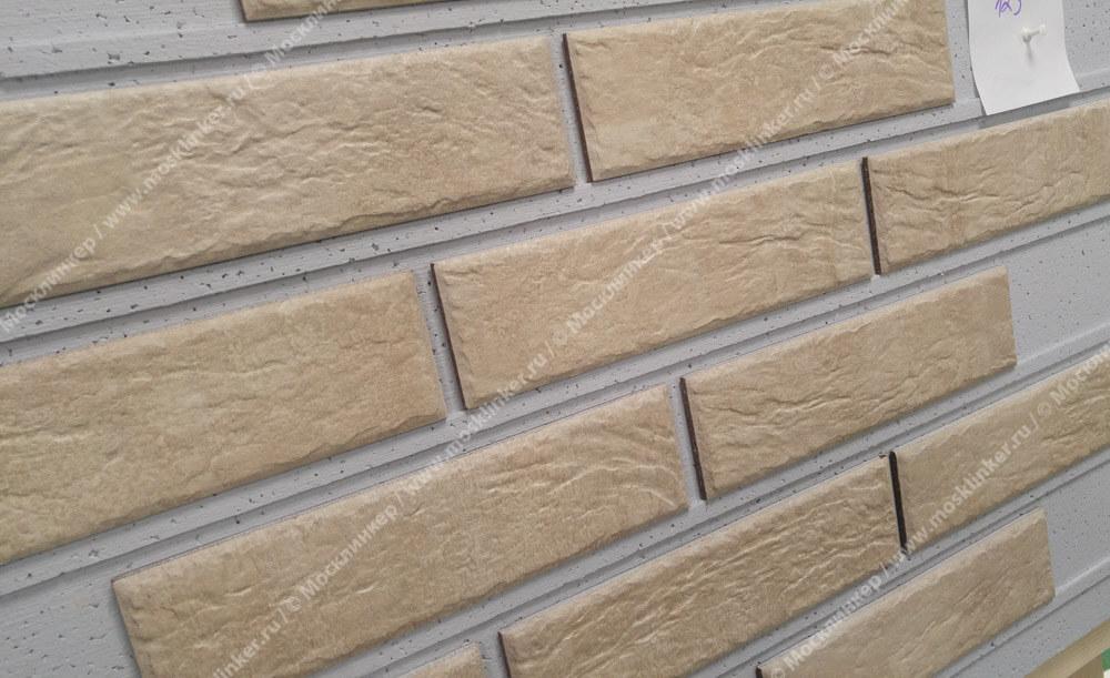 Cerrad Loft brick, Salt, 245x65x8 - Клинкерная плитка для фасада и внутренней отделки