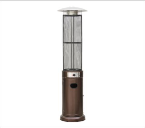 Уличный газовый обогреватель Aesto A-08Т, античный коричневый