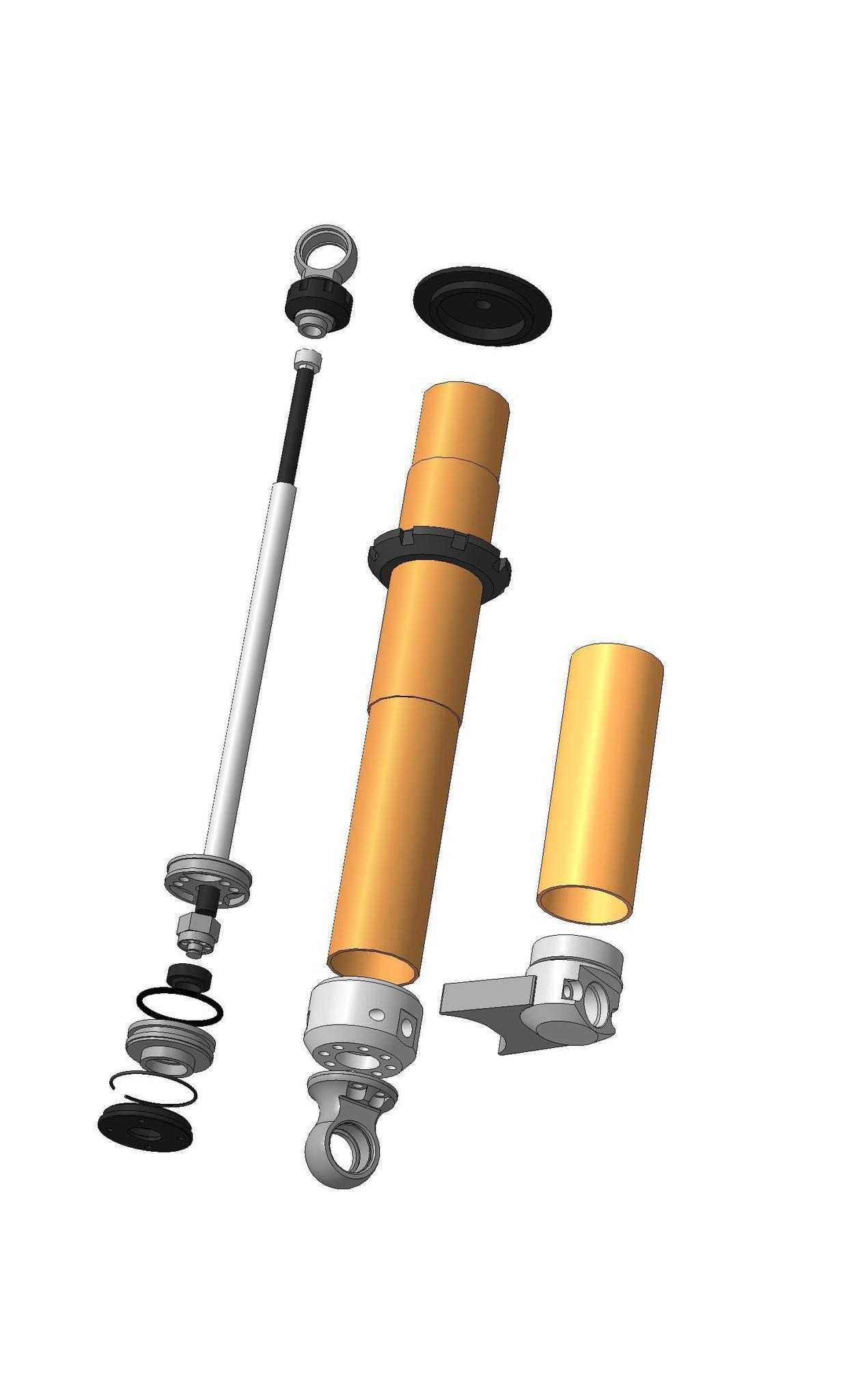Комплект стоек с резервуарами и тремя регулировками: 3Way Spectrum NEO