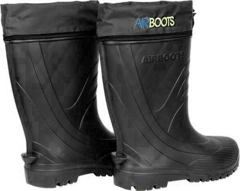 Сапоги Airboots -10°С Черный, с манжетой, мех. стелька