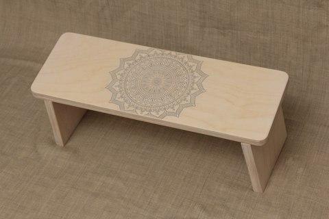 Скамейка для медитации складная Mandala