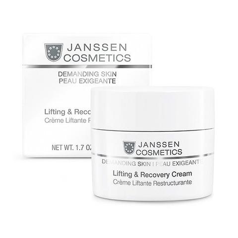 Восстанавливающий крем Lifting And Recovery Cream, Demanding Skin, Janssen Cosmetics, 50 мл