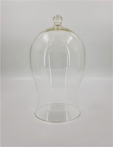 Стеклянная колба (Колпак, клош, купол, ваза, цилиндр) колокольчик 27*15 см