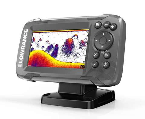 Эхолот для рыбалки Lowrance HOOK2-4x GPS Bullet Skimmer CE ROW