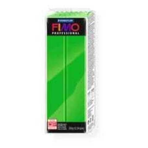 Fimo Professional ярко-зеленый 350 грамм