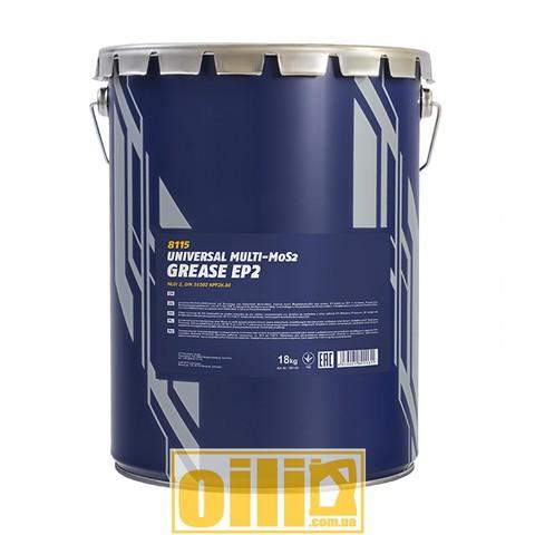 Mannol 8115 EP-2 Multi-MoS2 GREASE 18кг