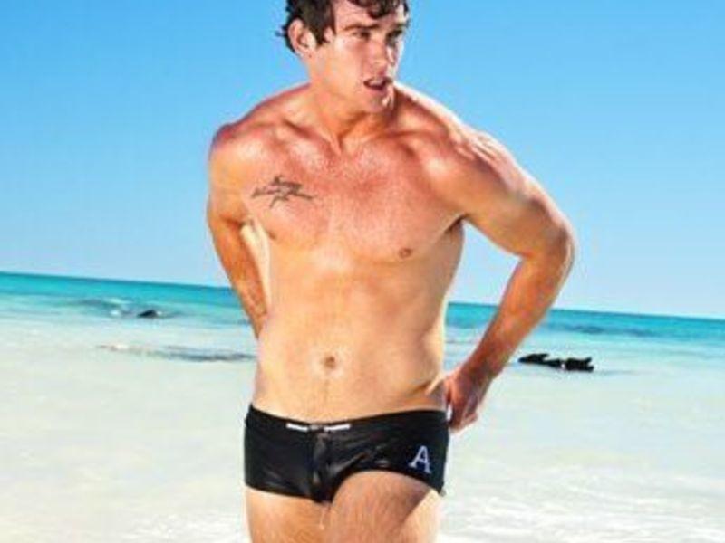 Мужские плавки Aussiebum Varsity Black Trunk
