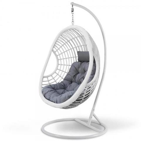 Подвесное кресло AFM-300GW White/Grey