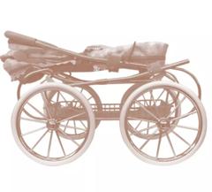 DeCuevas Коляска с рюкзаком серии Диди, 81 см (складная) (80043)