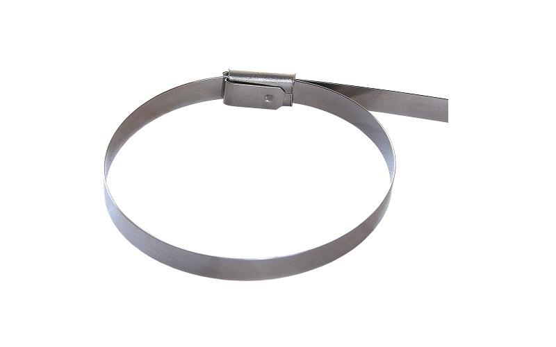 Хомут 4.6 х 200 мм стальной (50 шт)